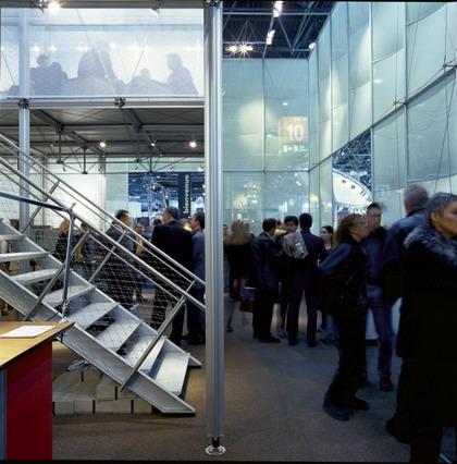 At the Euroshop 2002, PILA mini enclosed the Burkhardt Leitner