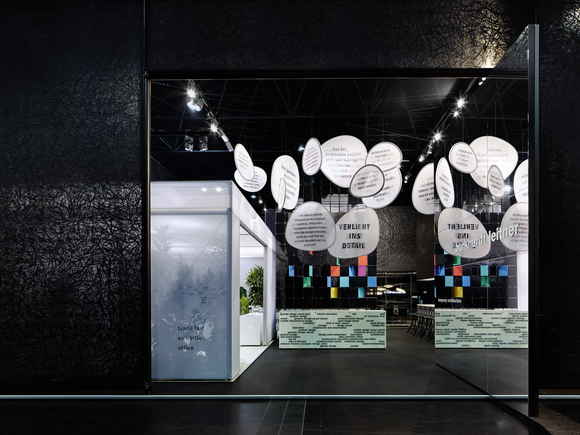 we presented the stand concept developed in co-operation with                 Ippolito Fleitz Group and two new architecture systems at the same time at EuroShop 2011 in Düsseldorf