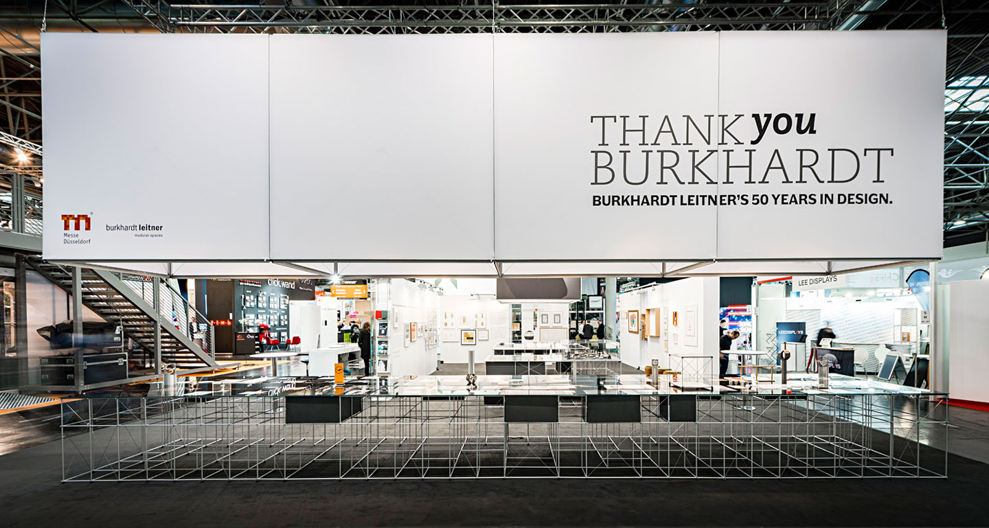 """THANK YOU BURKHARDT"" Exhibition at EuroShop 2017"