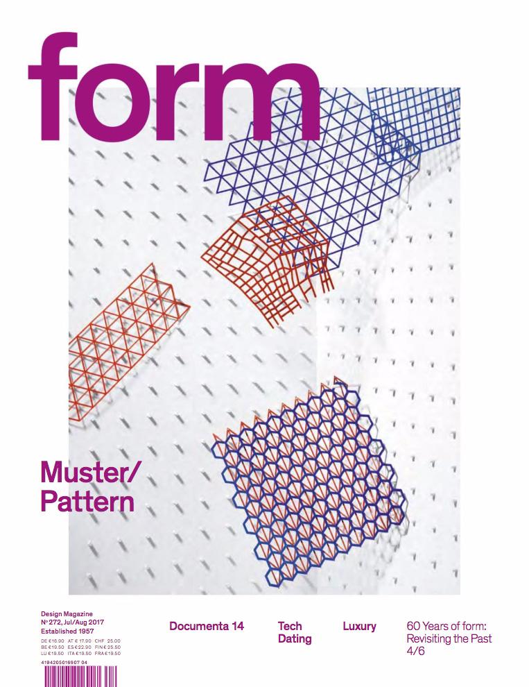 Form Magazine neue Ausgabe konzentriert sich auf