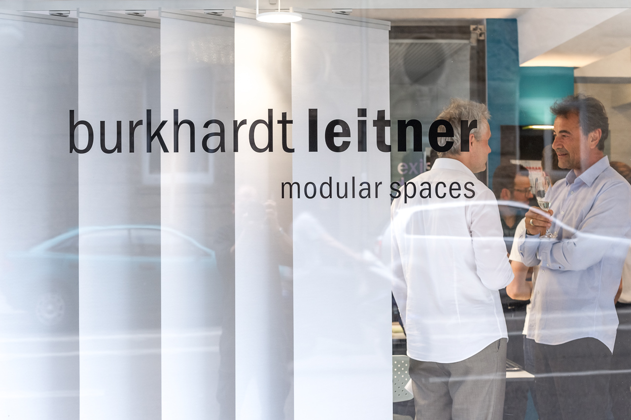 Burkhardt Leitner Modular Spaces new showroom opens in Stuttgart